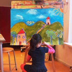Brede School - Schilderworkshop - Kinderen, Apeldoorn 2016