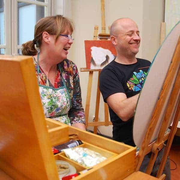 Schilderlessen Stichting k'LEEF - Apeldoorn 2016