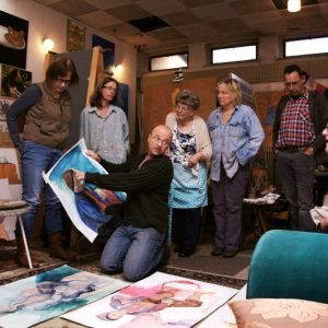 Modeltekenles - Bespreking Van Werk - Apeldoorn