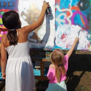 Workshop - Grafitti Streetartfestival - Apeldoorn 2016