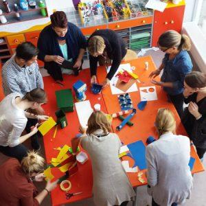 Workshop - 3D Bouwen, Leerkrachten Kosmisch Onderwijs - Apeldoorn 2016