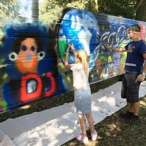 Workshop - Grafitti - Apeldoorn 2016