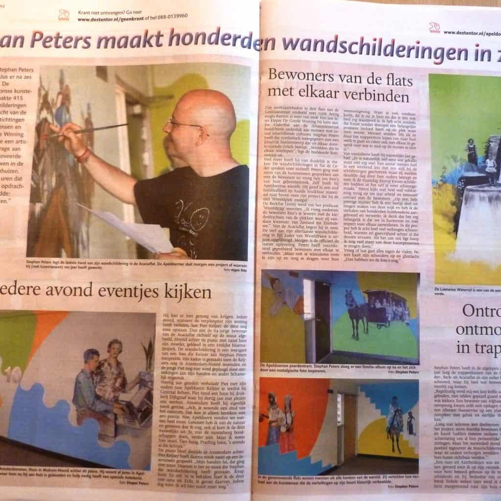 Penpaints Artikel Stentor Flatmuurschilderprojecten Apd2013