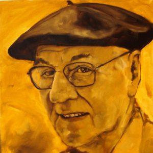 Penpaints Portret Henk Tijdink Apd 2005