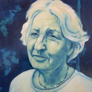 Penpaints Portret Henriette Olieverf Op Doek 60x70cm Apd2006