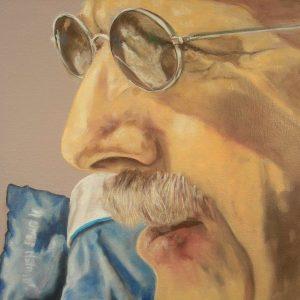 Penpaints Portret Kees Olieverf Op Doek 60x60cm Apd2011