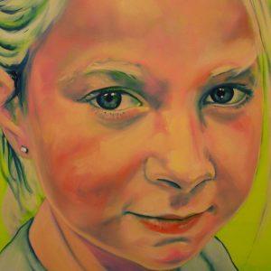 Penpaints Portret Meisje Brouwer  Detail Apd2005