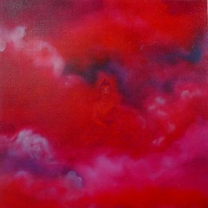 'Buddha In Red Sky'