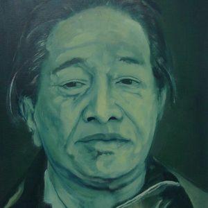 Penpaints Schilderij 'Dudjom Rinpoche' Olieverf Op Paneel  70×90 Apd2002
