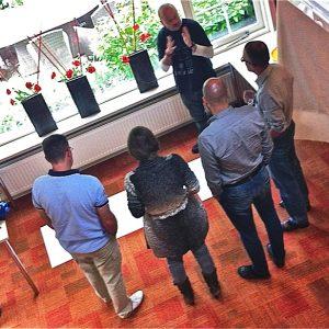 Workshops Bedrijven – Bespreking Van Het Werk Met Het Team, 2012