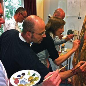 Workshops Bedrijven - Ik Help Een Handje Maar Het Team Gaat Het Doen - 2012