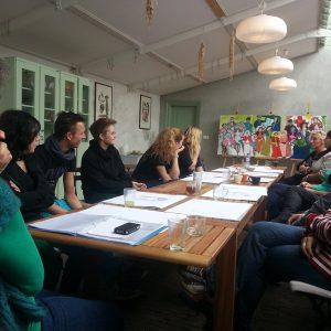 Workshops Bedrijven - Nabespreking Van Het Werk Met Het Team, 2013